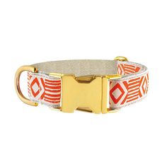 Out Of My Box Cream & Vermillion Collar - See Scout Sleep
