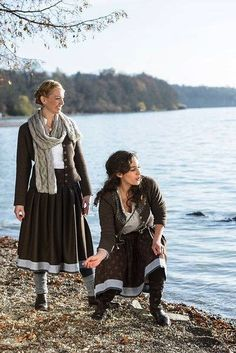 Fall pleasures - at the lake with lovely traditional skirts and adorable traditional style. by Die Rockmacherin