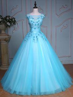 Cheap Quinceanera Dresses, Cute Prom Dresses, Dresses For Teens, Elegant Dresses, Pretty Dresses, Formal Dresses, Formal Prom, Quinceanera Party, Bridal Dresses