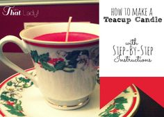 Are you looking for an inexpensive Christmas gift You can make this easy tea light candle with items from the dollar store!