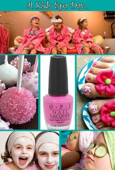 Spa party ideas for girls birthday! TGOTG can make sure you have everything you need to host a spa party for your pampered girl. Spa Birthday Parties, Sleepover Party, Slumber Parties, Birthday Fun, 10th Birthday, Fete Julie, Striping Tape Nail Art, Kinder Spa Party, Girl Spa Party