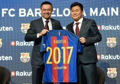 FC Barcelona seals massive deal with Japans Rakuten   Barcelona (AFP)  Spanish giants FC Barcelona sealed a massive shirt sponsorship deal Wednesday with Japanese online retailer Rakuten worth at least 55 million euros ($59 million) a year.  One of world footballs most lucrative shirt sponsorship deals sees Japans leading e-commerce company replace Qatar Airways Barcelonas shirt sponsor since 2013 confirming Asias appetite for major investment in European football.  The deal which begins in…