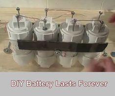 DIY Battery Lasts Forever - Homesteading - The Homestead Survival .Com #renewableenergy