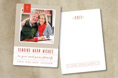holiday card template, bittersweet design boutique, miller's lab, miller's design market