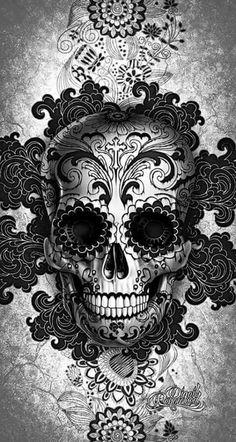 ⇜❊↠  skulls