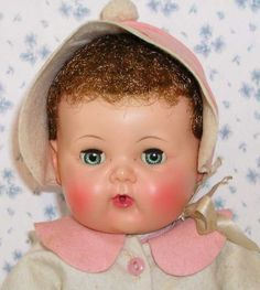Tiny Tears Doll History | GREAT classic Tiny Tears doll in MINTY shape, ready for display and ...