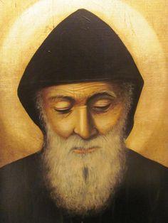 Nous fêtons aujourd'hui Saint Charbel Makhlouf, patron du Liban. St Charbel, Mona Lisa, Faith, Lebanon, Artwork, Painting, Peeps, Tattoo Ideas, Thoughts
