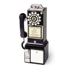 Crosley 1950s Wall Pay Phone $80