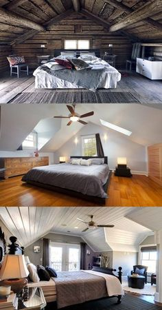 Turning your Attic to a Master Bedroom - http://interiordesign4.com/turning-attic-master-bedroom/
