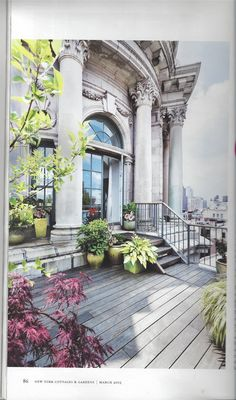 Terrace NYC - march cover NYC & G