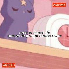 Funny Spanish Memes, Spanish Humor, Pingu Memes, Memes Amor, Memes Lindos, Meme Maker, Sweet Quotes, Cute Memes, Reaction Pictures