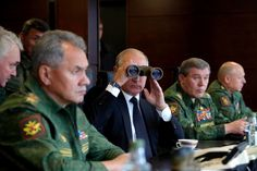 NATO expressed concern about the size of the war games, which Russian President Vladimir Putin was personally observing.