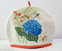 Alice's Cottage Cotton Tea Cozy Hydrangea Dragonfly - NEW