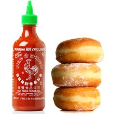 Yes, A Doughnut Topped With Sriracha Exists #FWx