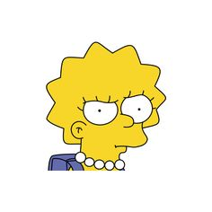 Lisa Simpson pictures ❤ liked on Polyvore featuring fillers, emojis // transparents, pictures, cartoons and decorations
