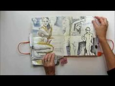Naples sketchbook by Karen Stamper (karenstamper.com) - YouTube