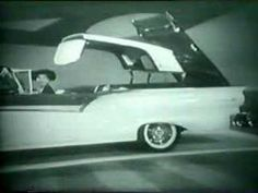A jewel...  Vintage TV Commercial - Lucile Ball & Ricky, Ford Convertable, 50's