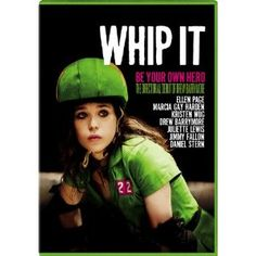 Whip It DVD ~ Ellen Page. The greatest movie! Ellen Page is phenomenal & it really made me want to play roller derby! Ellen Page, Whip It Movie, Movie Tv, Movies Showing, Movies And Tv Shows, Cinema Art, It Netflix, Alia Shawkat, Be Your Own Hero