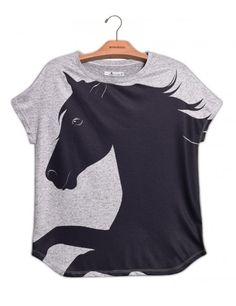 Camiseta Mescla Cavalo Negro www.usenatureza.com #UseNatureza #JeffersonKulig