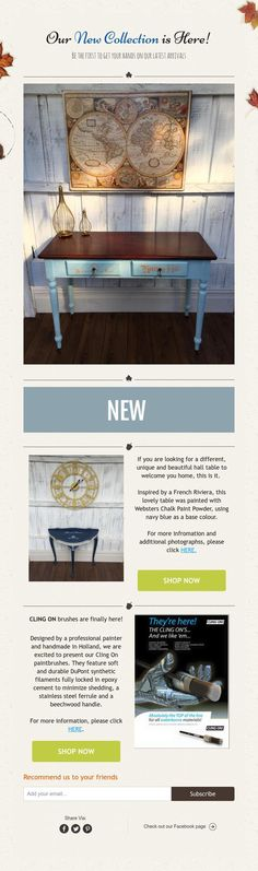 OurNew Collection is Here!  Be the first to get your hands on our latest arrivals