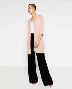 ZARA - WOMAN - LONG VIGORÉ JACKET | Style