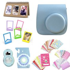 Find More Camera/Video Bags Information about Fujifilm Instax Mini 8 Accessories Camera PU Leather Case Bag Camera Film Stickers Photo Album Selfie Lens Mirror Photo Frames ,High Quality mirror framed prints,China frame retardant Suppliers, Cheap mirror laptop from Photography store on Aliexpress.com