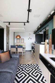 Charme e conforto em apartamento de 57 m²