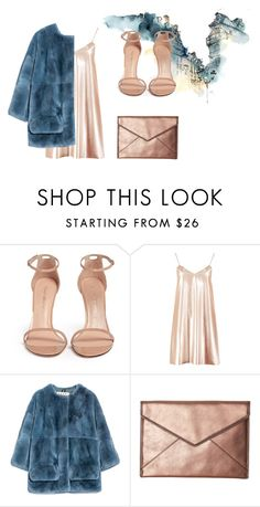 """""""Jacket in rex rabbit with jersey lining"""" by gulsahfilik ❤ liked on Polyvore featuring Stuart Weitzman, Boohoo, Marni and Rebecca Minkoff"""