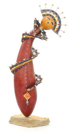 Contemporary Queen Kachina Doll with Rosario Wilke, Saturday, August 31, 2013