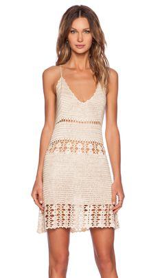 UNIF Dharma Dress in Cream