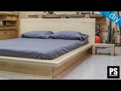 DIY Modern Sofa | How to make a sofa out of plywood - YouTube
