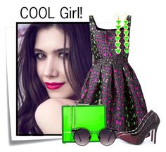 """""""..."""" by elenb ❤ liked on Polyvore featuring Post-It, Christopher Kane, Boohoo, Oui, Odile! and Quay"""