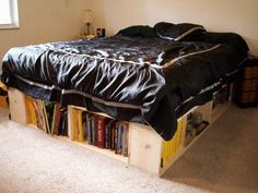 DIY Bed Frame with Storage   DIY Bed Frame with Storage Down Under