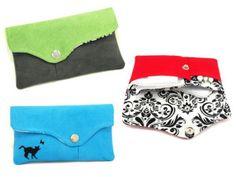 Pouch for tampons, panty liners and sanitary pads / Etui 3w1 na podpaski, tampony oraz wkładki higieniczne
