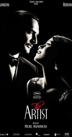 Directed by Michel Hazanavicius.  With Jean Dujardin, Bérénice Bejo, John Goodman, James Cromwell. A silent movie star meets a young dancer, but the arrival of talking pictures sends their careers in opposite directions.