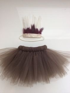 Baby Girl Indian Halloween Costume Tutu and by WhimsyLittles