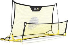 Buy SKLZ Quickster Soccer Trainer - Portable Soccer Rebounder Net Works as a Soccer Volley Trainer, Soccer Passing Trainer and Solo Soccer Trainer. by at Discounted Prices ✓ FREE DELIVERY possible on eligible purchases. Solo Soccer, Soccer Gear, Soccer Equipment, Soccer Ball, Football Gear, Soccer Drills, Soccer Players, Portable Soccer Goals, Futbol