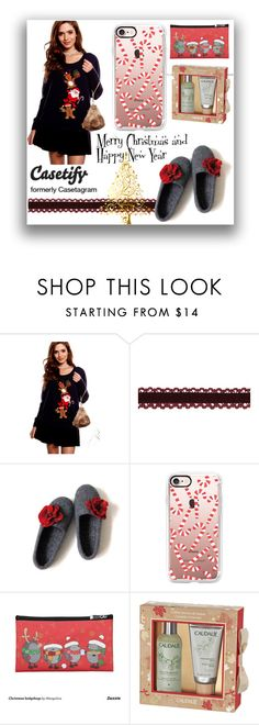 """""""#1 Casetify"""" by naida-piric ❤ liked on Polyvore featuring Casetify and Caudalíe"""