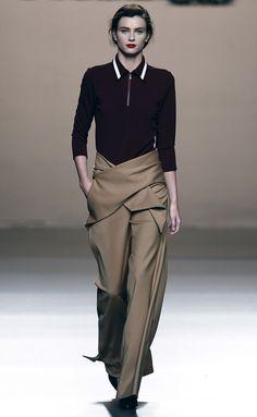 ROBERTO+TORRETTA-034 Estilo Tomboy, Maxi Skirts, Madrid, Pants, Fashion, Past Tense, Future Tense, Gun Turret, Walkway
