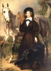 Queen Louise Marie of Belgium, by Eugène Verboeckhoven and Gustaaf Wappers Equestrian Art, Literature Art, Art History, Female Art, Art Gallery, Art, Horse Painting, Horse Silhouette, Interesting Art