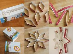 Crafts with empty milk cartons - Mamaliefde. Diy Crafts Desk, Toilet Paper Crafts, Diy Art Projects, Crafts To Make, Christmas Crafts, Crafts For Kids, Childrens Christmas, Kids Christmas, Milk Carton Crafts