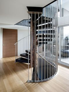 Incredible stair design.