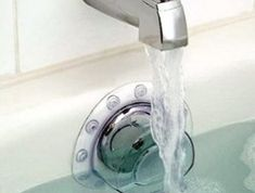 The Deep Water Bath Plug will surely revolutionize your spa life… one soaking hot bath at a time. - $6.64