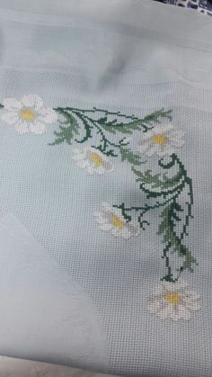 This Pin was discovered by Ayş Cross Stitching, Cross Stitch Embroidery, Hand Embroidery, Cross Stitch Patterns, Cross Stitch Rose, Cross Stitch Flowers, Floral Embroidery Patterns, Palestinian Embroidery, Bargello