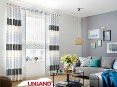 Unland Rafael, Vorhang, Fensterideen, Gardinen und Sonnenschutz - curtains, contract fabrics, pleated blinds, roller blinds and more. Made in Germany