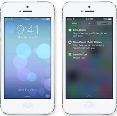 #Apple #iOS 7 new look revealed at #WWDC2013