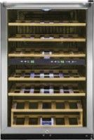 Frigidaire - 38-Bottle Wine Cooler - Stainless Steel - Front Zoom