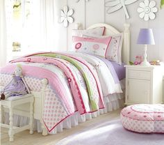 Colorful Kids Bedroom Design Collections by Pottery Barn Kids : Pottery Barn Kids Bedroom Design Anderson Collection Kids Bedroom Sets, Bedroom Themes, Girls Bedroom, Bedroom Decor, Bedroom Ideas, Kids Room, Pottery Barn Kids, Garden Bedroom, Girl Bedroom Designs