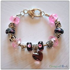 charms beads bracelet $ 16.50