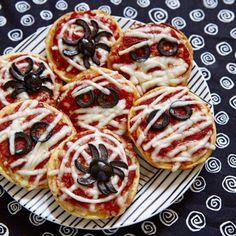 Pizza Halloween / On mise tout sur un apéro d'Halloween